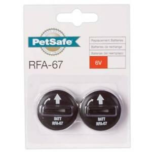 Petsafe-Lot-de-2-Piles-RFA-67-6V-Collier-de-Dressage-Anti-Aboiement-Anti-Fugue