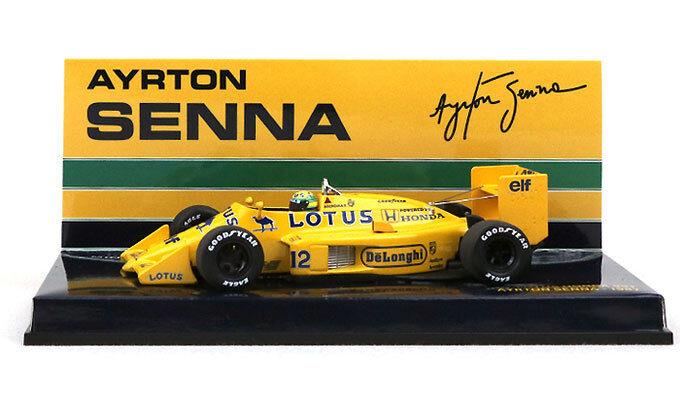 Minichamps Lotus Honda 99T 1987 - Ayrton Senna 1 43 Scale