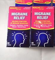 Magnilife Migraine Relief Tablets ( 2 Pack Bundle= 180 Tablets)