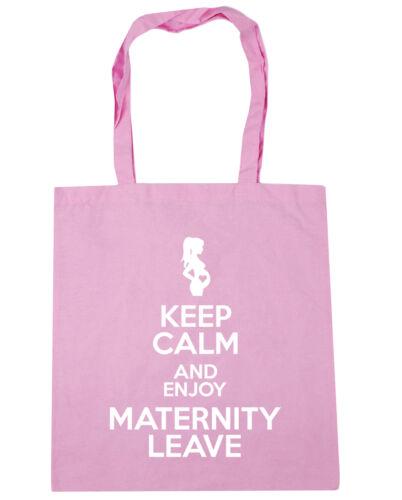 10 l Keep Calm and Enjoy Maternity Leave Tote Shopping Gym Beach Bag 42cm x38cm