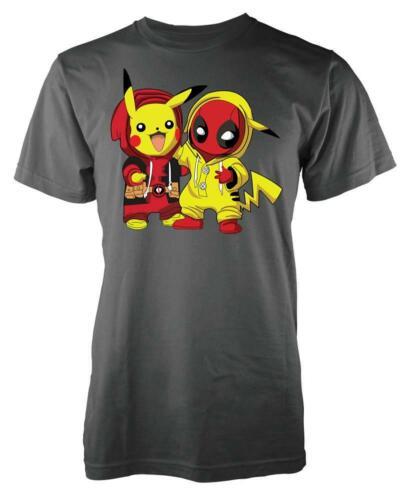 Pokey Pikachu Deadpool Mashup Kids T Shirt