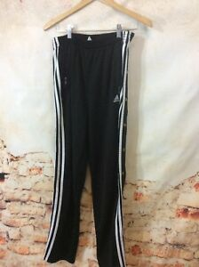 Details about Vintage Adidas True to the sports Tear Away Sweat pants Basketball size medium M