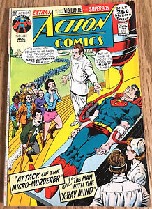 ACTION-COMIC-BOOK-403-034-Attack-of-the-Micro-Murderer-034-w-Superman-DC-Fine-6-0