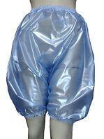Pvc Bloomers Sissy Pants Knickers Semi Clear Blue Adult Baby Panties Plastic
