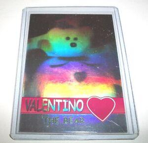 0285bb0c117 Ty S2 Beanie Card RARE BEAR CARD GREEN USA VERSION VALENTINO BEAR ...