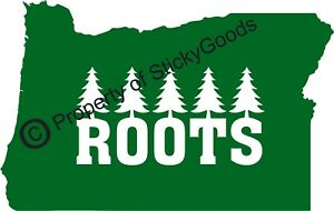Details about Oregon State Roots w/ Trees Vinyl Decal Sticker for Car,  Window, board, mug yeti