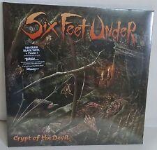 Six Feet Under Crypt Of The Devil LP Vinyl Record new German press black vinyl