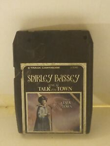 8-Track-Cassette-Shirley-bassey-live-at-talk-of-the-town