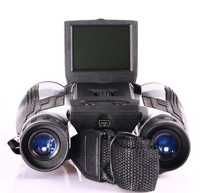 "Outdoor Full HD 1080P Video Camera Digital Binoculars With 2"" LCD Screen 12*32"