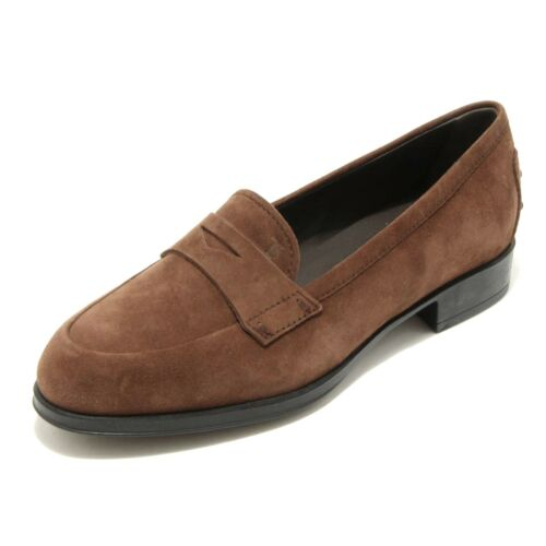 1619G mocassino TOD'S GOMMA scarpa donna loafer shoes women