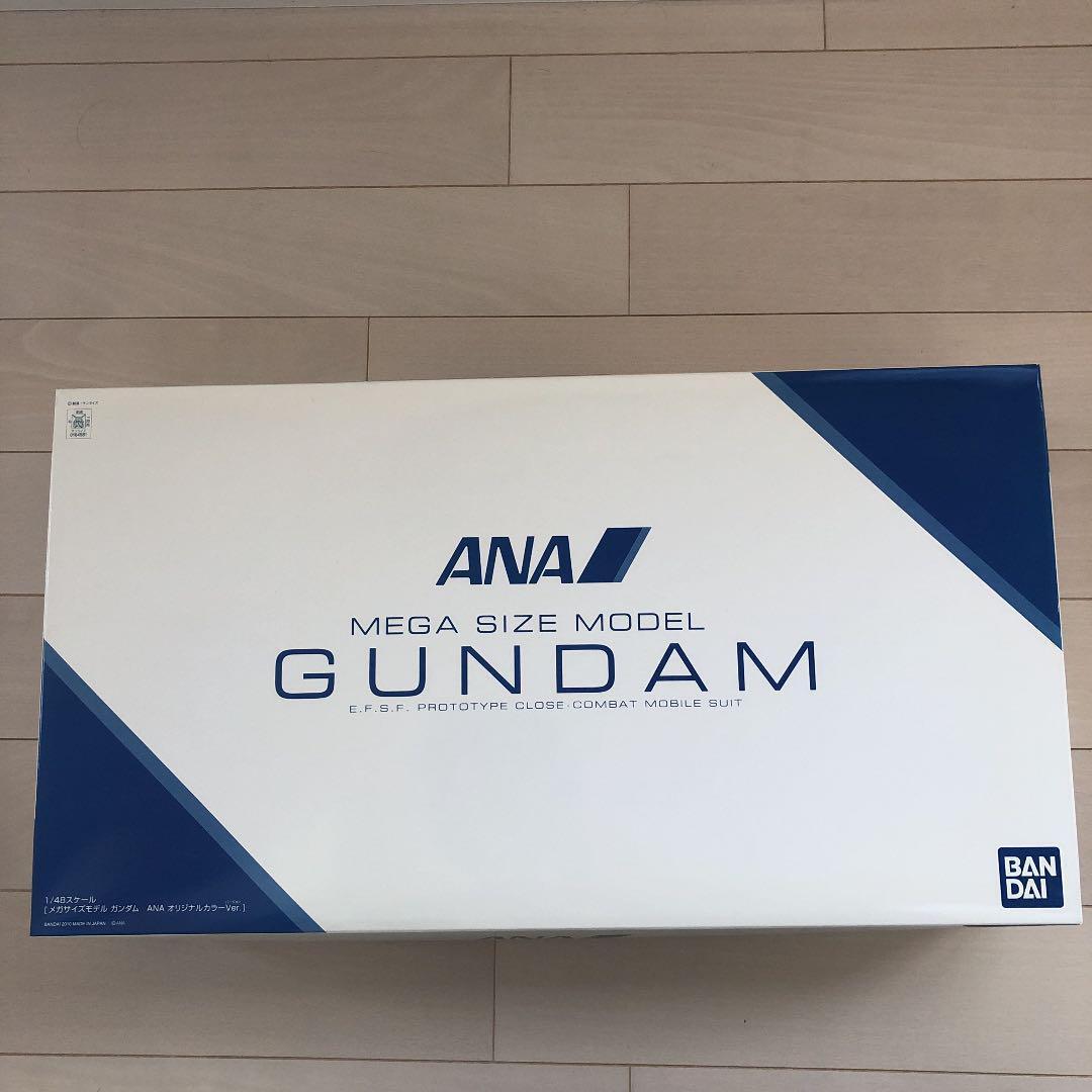 1 48 scale mega size model Gundam ANA original color Ver Japan EMS F S