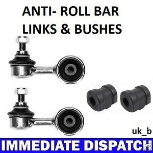 BMW-323-325-E30-Front-Anti-Roll-Bar-Sway-bar-2-x-Bushes-amp-2-x-Links-Rods