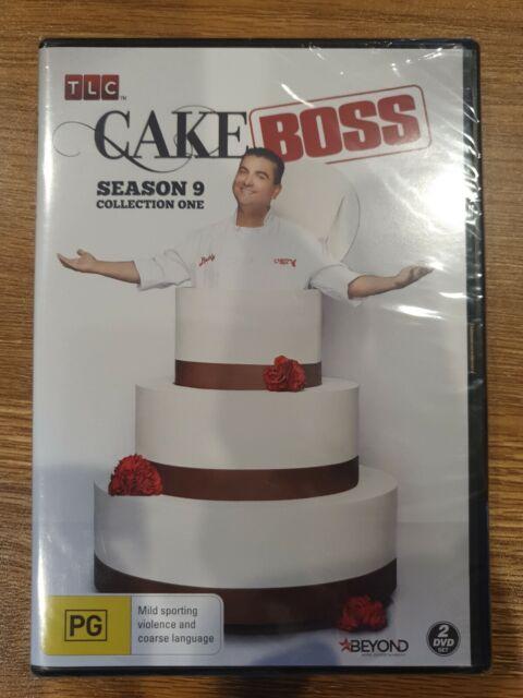 Cake Boss : Season 9 : Collection 1 (DVD, 2018, 2-Disc Set)