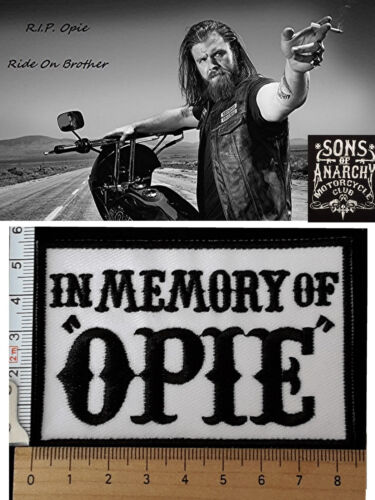 Aufnäher in Memory of OPIE Anarchy in Charming Member Patch