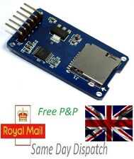 Micro SD Storage Board Mciro SD TF Card Memory Shield Module SPI For Arduino UK