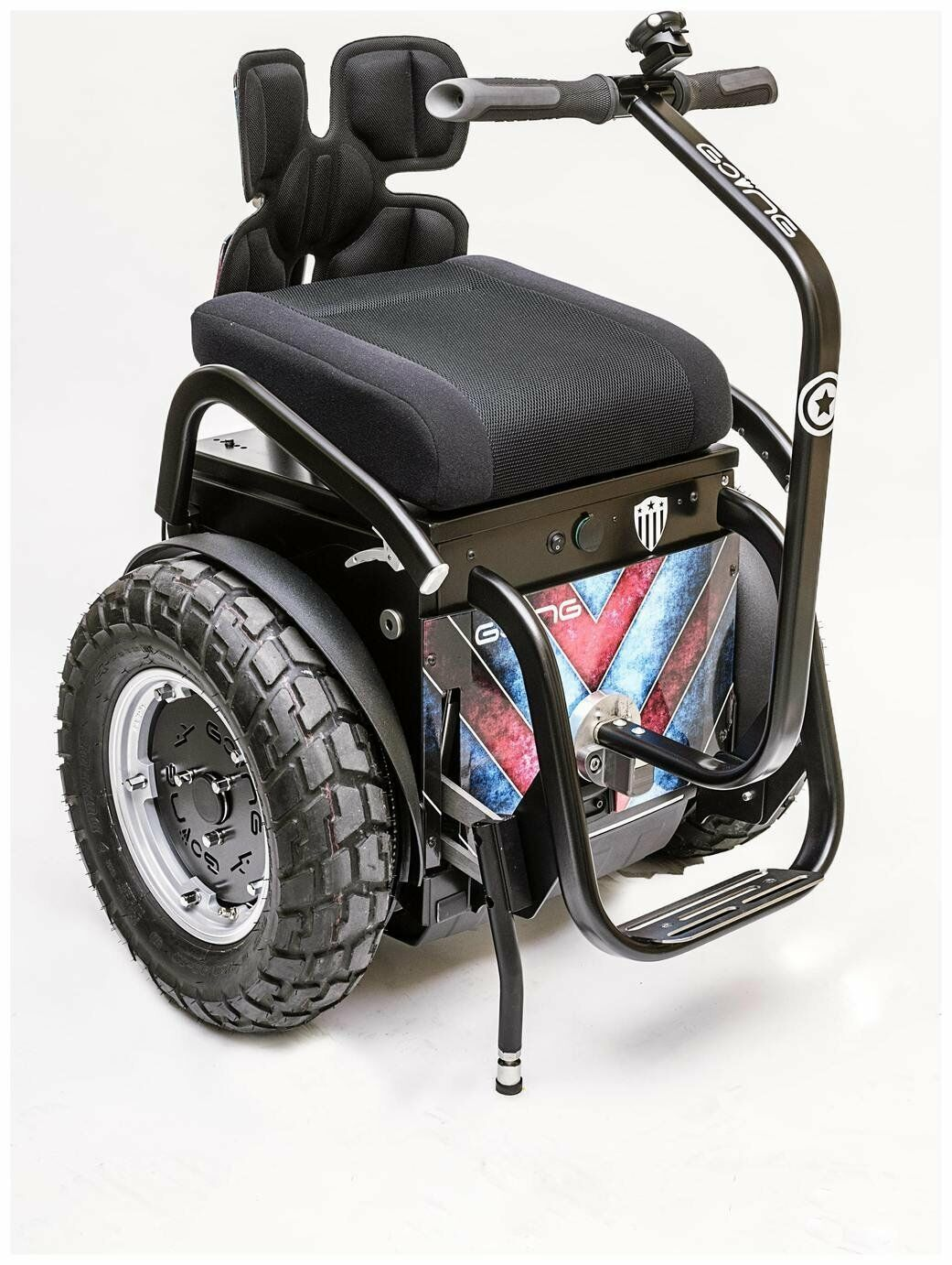 HandyTech Going Off Road Self Balancing Powerchair