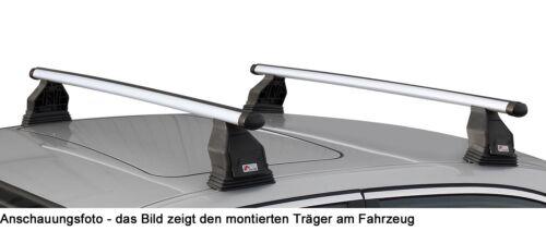 Dachträger Menabo Tema für Renault Grand Scenic II 04-09 Alu