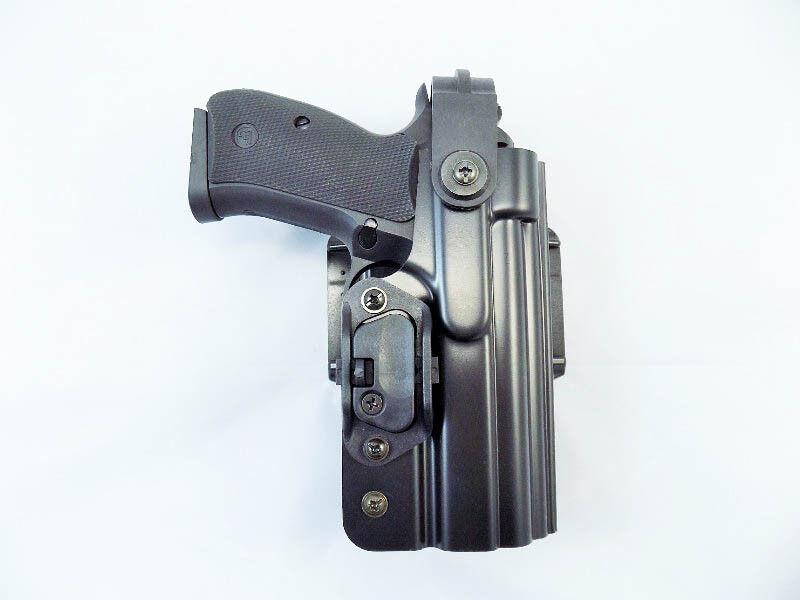 CZ Police Profesional deber Premium CZ 75 D Compacto P 06 P Funda 01 + Clip De Polipropileno