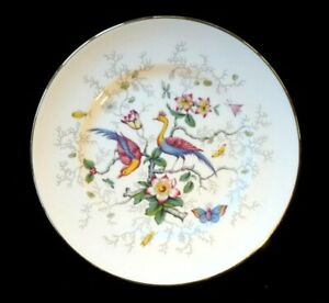 Beautiful-Coalport-Cairo-Peacock-Multi-Colour-Bread-Plate
