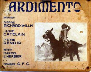 EXOTIC-AVENTURE-La-route-imperiale-RICHARD-WILLM-1935-FOTOBUSTA-MARCEL-L-HERBIE