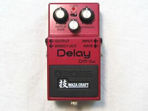 Used Boss DM-2W Waza Craft Analog Delay Pedal