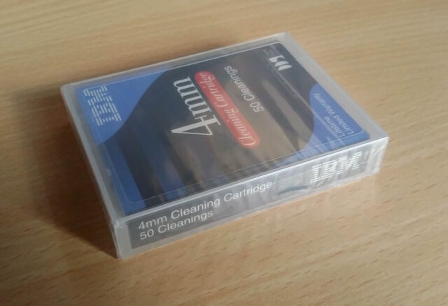 100% NEU IBM DDS 4mm Cleaning Cartridge (DDS1~5 21F8763) *** EU Free Shipping
