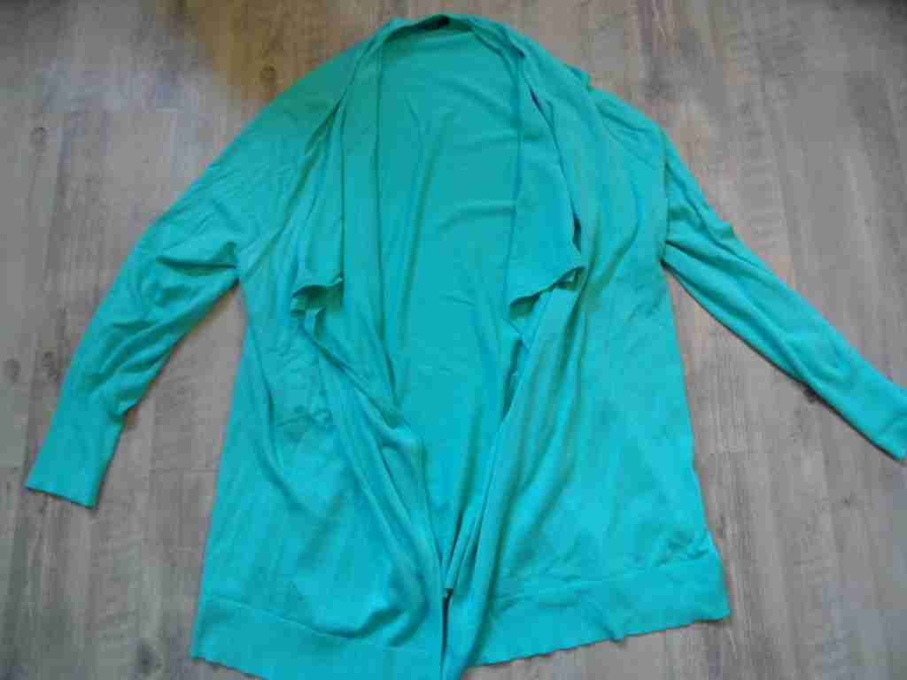 ESPRIT schöner langer Cardigan green Gr. XXL TOP kLi617