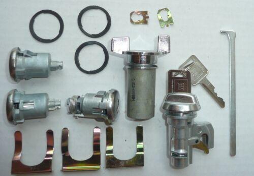 Lock Set Impala Caprice 72 73 74 75 76 1 Key Door Ignition Trunk Glove 335