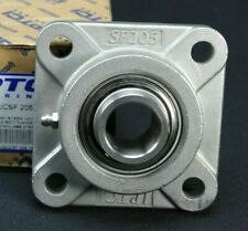 """SUCSF 206-20 Four Bolt flange 1-1//4/"""" All Stainless Steel  Bearing"""