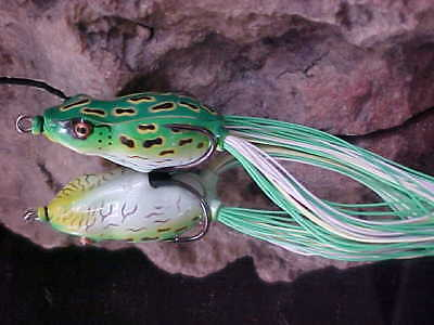 """River2Sea 2/"""" Japan Designed F-BW55II-04 Frog in COPPER GREEN for Bass//Pike"""