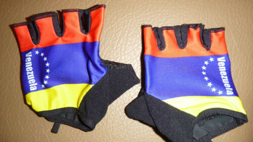 VENEZUELA Country Flag Road MTB Bike and weight training Gloves*
