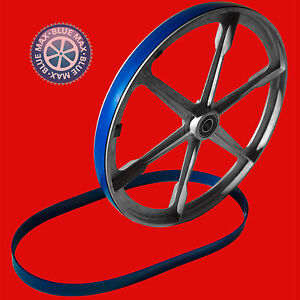 """2 BLUE MAX ULTRA DUTY BAND SAW TIRES 15/"""" X 1/"""" FOR MONTGOMERY WARDS BAND SAW"""