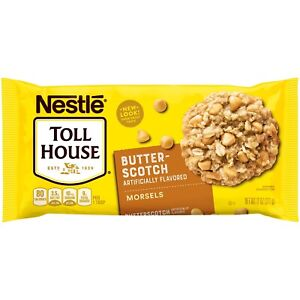 NEW-NESTLE-TOLL-HOUSE-BUTTERSCOTCH-MORSELS-11-OZ-BAG-FREE-WORLD-WIDE-SHIPPING