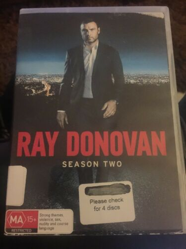 1 of 1 - Ray Donovan : Season 2 (DVD, 2015, 4-Disc Set) Region 4