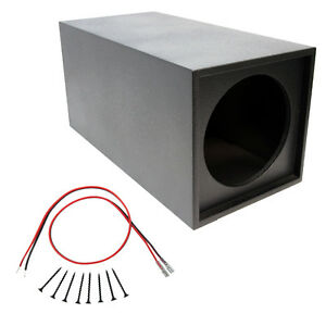 Universal-Spray-Lined-Single-12-034-Inch-Vented-Subwoofer-Enclosure-Sub-Box