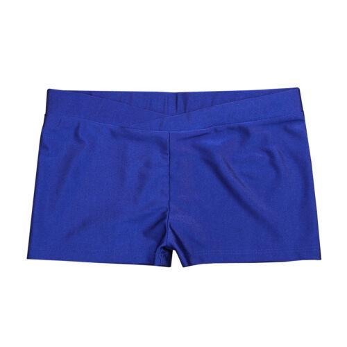 US Girls Dance Booty Shorts Gymnastic Gym Sports Leotard Short Pants Dancewear