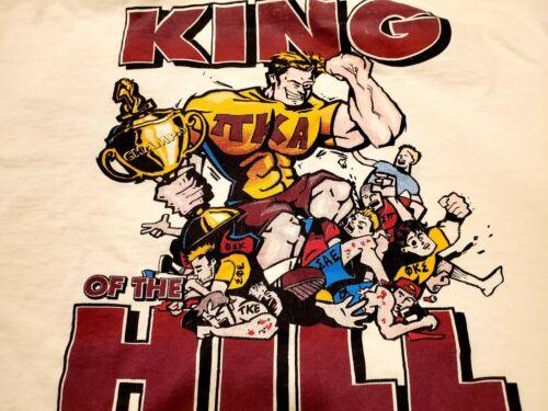 Pi Kappa Alpha Large L T-shirt Pike House Pikes Ki