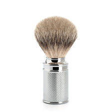 Muhle 091M89 Silvertip Badger Hair Shaving Brush with Chrome Plated Handle