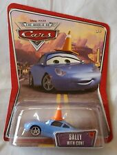 Disney Pixar Cars SALLY WITH CONE Series 3 (World of Cars) 1:55 Diecast