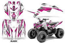 Yamaha Raptor 90 AMR Racing Graphic Kit Wrap Quad Decals ATV 2009-2015 SLASH PNK