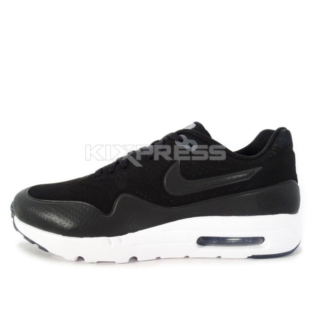 reputable site 17284 341d3 Nike Air Max 1 Ultra Moire  705297-010  NSW Running Black Dark