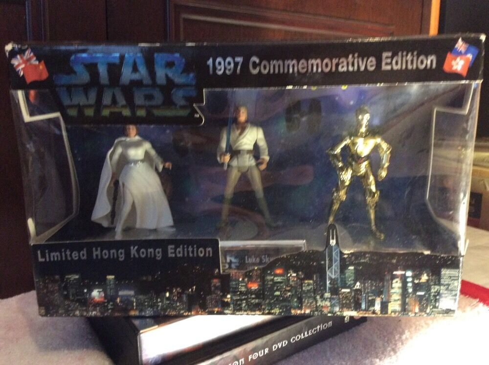 STAR WARS Vintage 1997 Hong Kong Commemorative Limited Edition HEROES MIB Rare