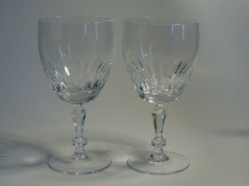"""Gorham Crystal MONTICELLO 6 1//2/"""" Water Goblet lot of 2 s"""