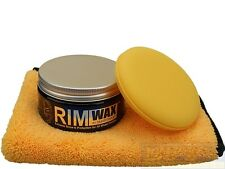 Smartwax RimWax/Felgenwachs im Set mit Applicator & Chemical Guys Microfasertuch