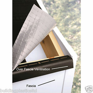 Building Supplies 10mm Over Fascia Eaves Vent 20 Pack