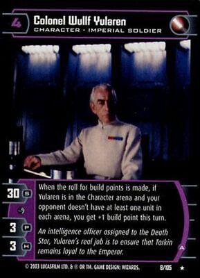 A Star Wars TCG BOY Colonel Wullf Yularen
