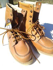Vintage Mens work boots 7 D Steel Toe