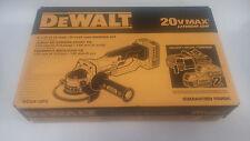 DEWALT DCG412P2 20V Max Cordless Lithium‑Ion 5 in Grinder Tool Kit