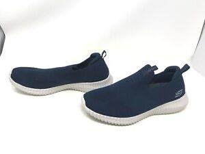 Détails sur Skechers pour homme (52649) ELITE FLEX wasick Bleu Marine Chaussures (403 g) afficher le titre d'origine
