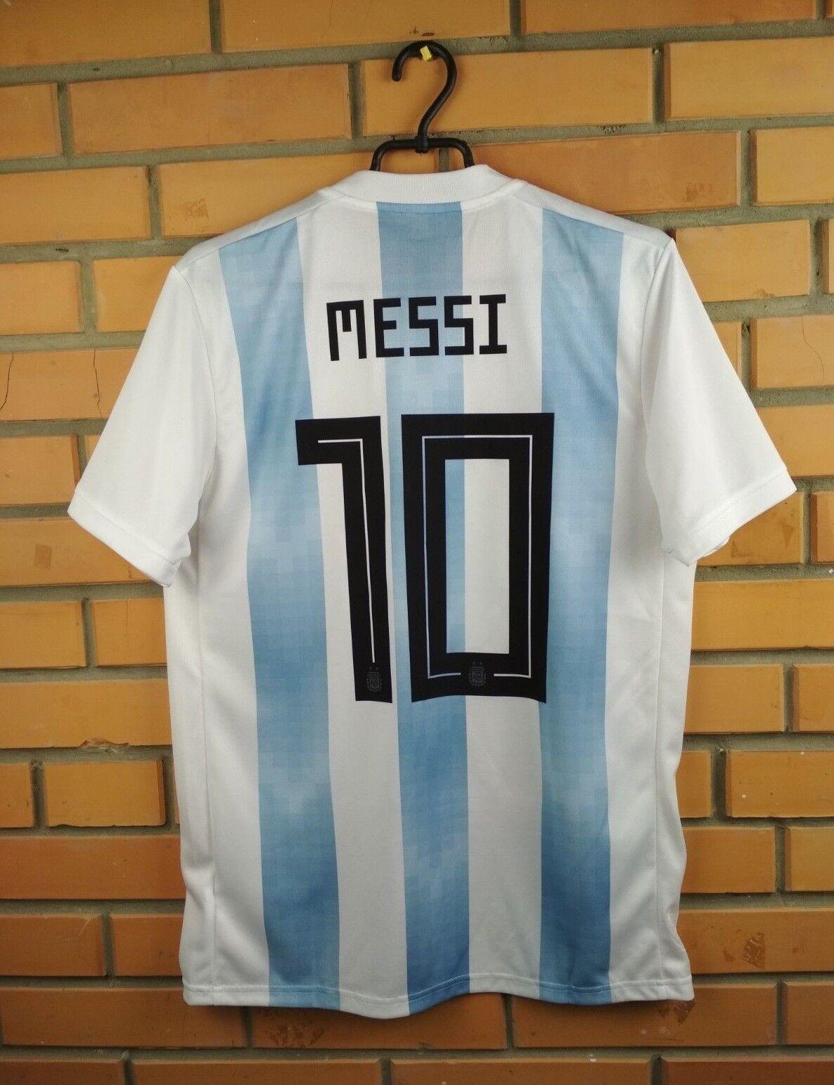 1010 Messi argentoina jersey XL 2018 home shirt BQ9324 soccer footbtutti Adidas